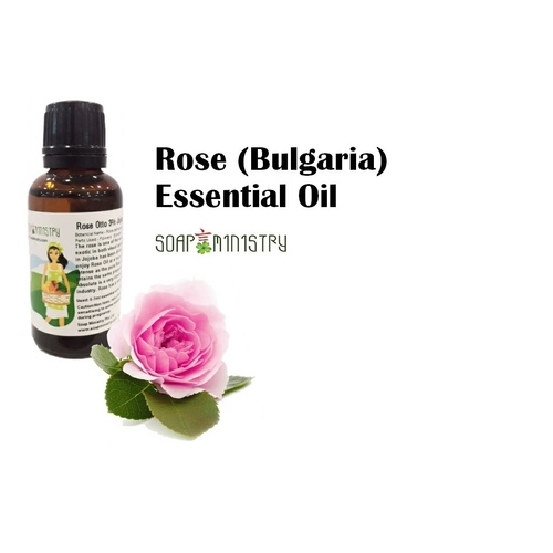 Rose Otto 3 Jojoba Essential Oil 500ml