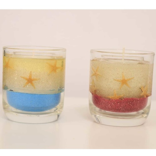 Candle making - Gel decorative candle