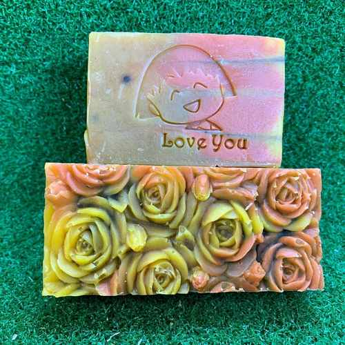 Love You Acrylic Soap Stamp