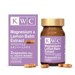 KWC Magesium & Lemon Balm Extract - 60 capsules