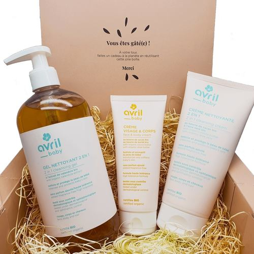 Avril Organic Baby Bath & Skincare Bundle