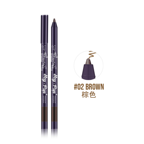 Heynature Hey-Pop Waterproof Gel Eyeliner No.2 Natural Brown