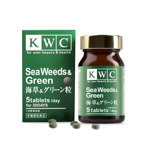 KWC Seaweeds  Green - 150 tablets