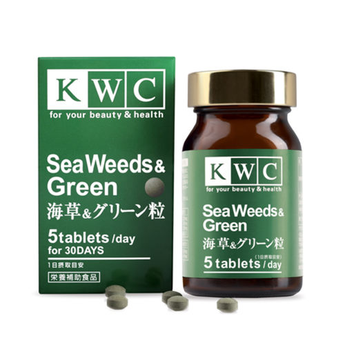 KWC Seaweeds & Green - 150 tablets