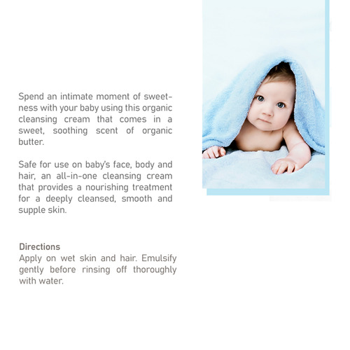 Avril Baby Organic Cleansing Cream - 200ml