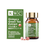KWC Ginkgo  Green Tea Extract- 60 tablets