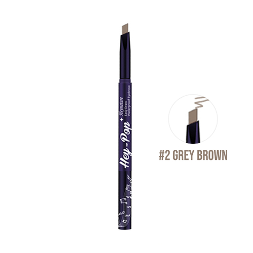 Heynature Hey-Pop Easy Draw Waterproof Eyebrow No. 2 Gray Brown