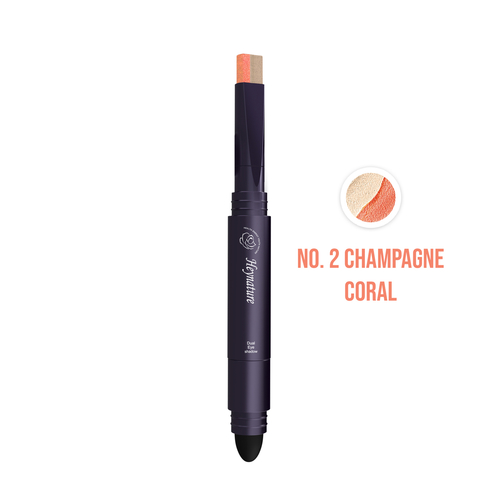 Heynature Dual Eye Shadow No. 2 Champagne Coral