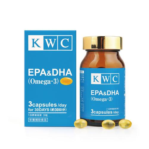 KWC EPA & DHA Omega-3 - 90 capsules