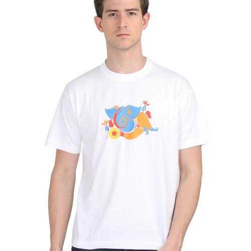 KMDPL Ganesha T Shirt 04 White
