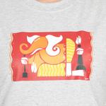 KMDPL Ganesha T Shirt 08 Grey