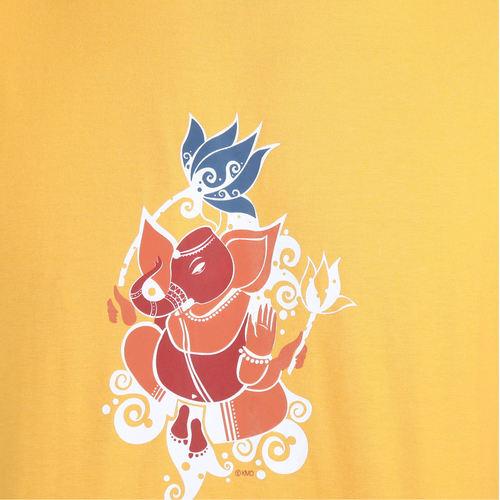 KMDPL Ganesha T Shirt 10 Yellow