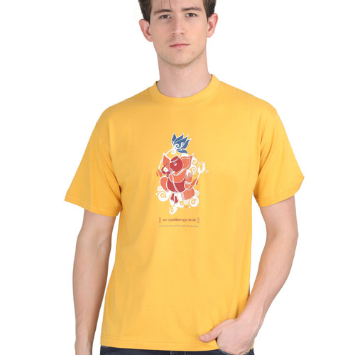 KMDPL Ganesha T Shirt 10 Yellow