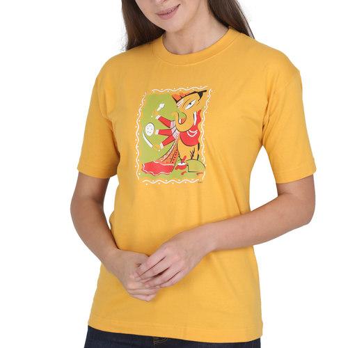 KMDPL Ganesha T Shirt 09 Yellow