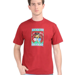 KMDPL Ganesha T Shirt 06 Red