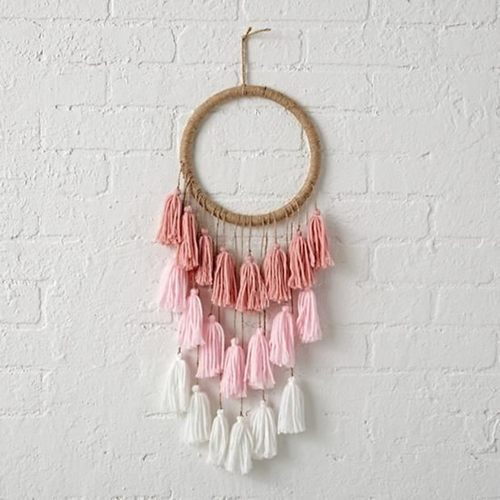 3 layer Tassel Dreamcatcher