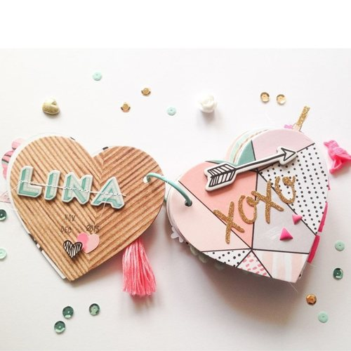 Heart Shaped Mini-Album