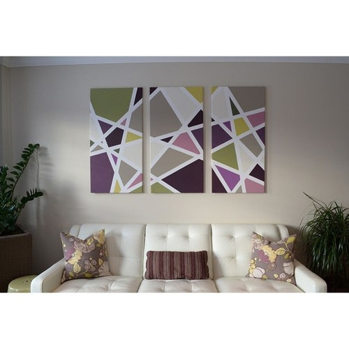 Geometric Pattern Colorful Paintings