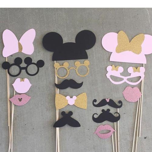 Minnie Mickey Photo Props