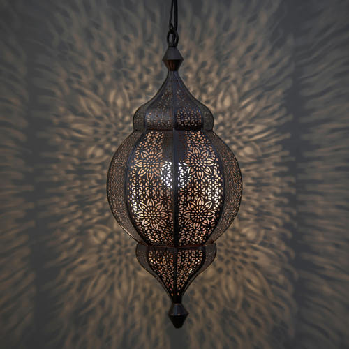 Classic Moroccan Orb Hanging Lamp