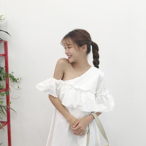 Flare Offsie Dress