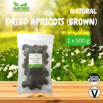Dried Natural Apricots Brown 500g