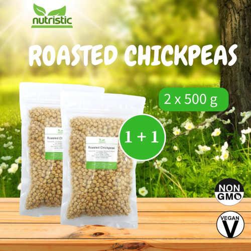 Roasted Chickpeas 500g x2 - Value Bundle 1+1