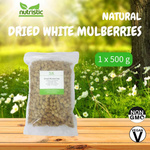 Natural Dried White Mulberries 500g