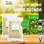 Organic White Quinoa 500g x2 - Value Bundle 1+1