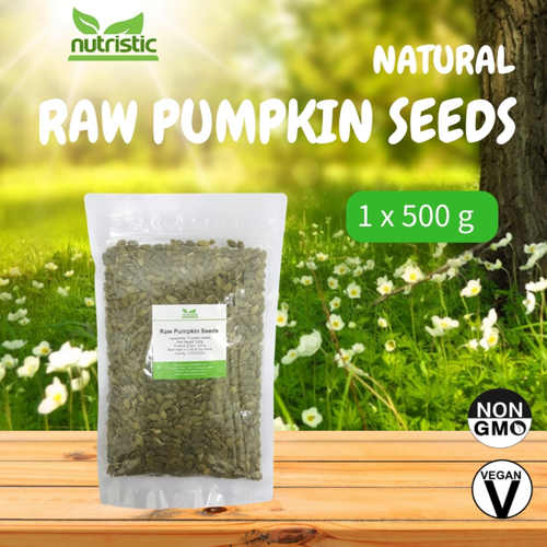 Natural Raw Pumpkin Seeds 500g