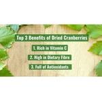 Dried Cranberries [500g] x2 - Value Bundle 1+1