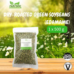 Dry-Roasted Green Soybeans Edamame 500g