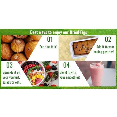 Dried Figs [500g] x2 - Value Bundle 1+1