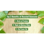 Dry-Roasted Green Soybeans Edamame 500g - Value Pack