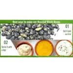 Dry-Roasted Black Beans 500g x2 - Value Bundle 1+1
