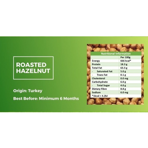 Roasted Hazelnut [500g] x2 - Value Bundle 1+1