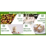 Roasted Pistachio Salted & Unbleached 500g x2 - Value Bundle 1+1