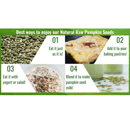 Natural Raw Pumpkin Seeds [500g] - Value Pack