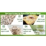 Natural Raw Sunflower Seeds [500g] x2 - Value Bundle 1+1