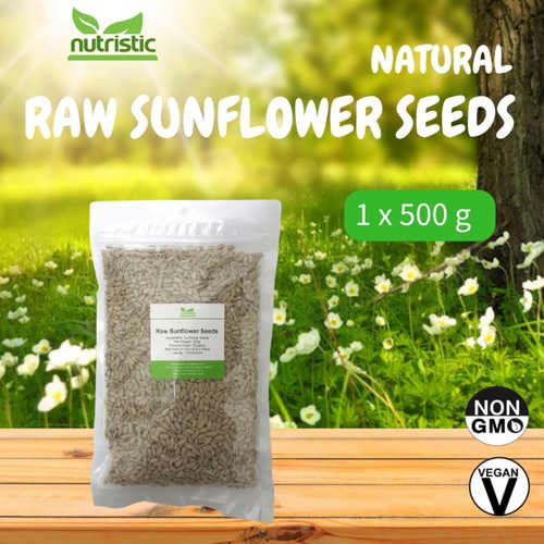 Natural Raw Sunflower Seeds 500g