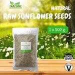 Natural Raw Sunflower Seeds 500g