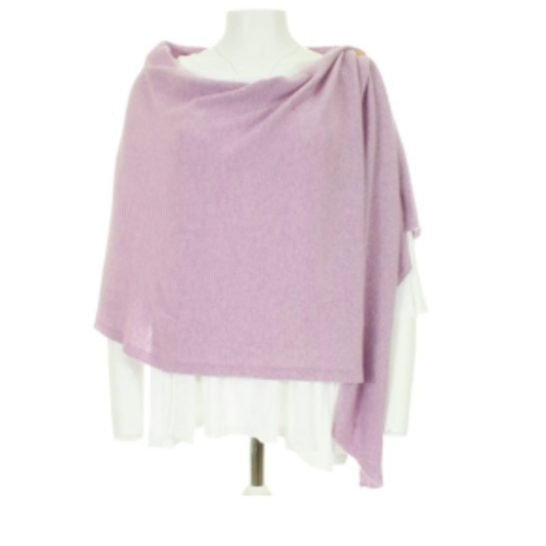Cashmere-Wool blend multi wear poncho.