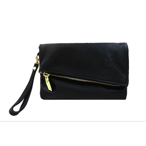 Italian Leather Small Clutch