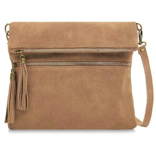 AW18 Suede Crossbody Bag
