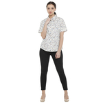 Double TWO Multi Floral Print Classic Fit Women's Shirt