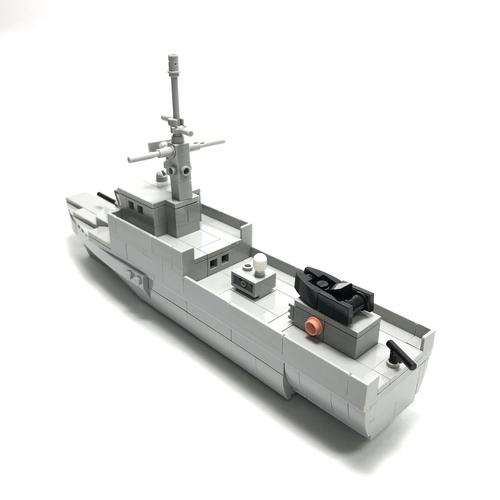 Fearless Class Patrol Vessel Microscale - 201