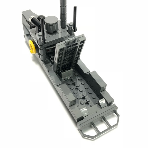 PK Class High Speed Interceptor Minfigure Scale - 404