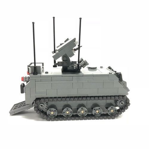 M113A2 Ultra Mechanised Igla Weapon Fire Unit Minifigure Scale - 106