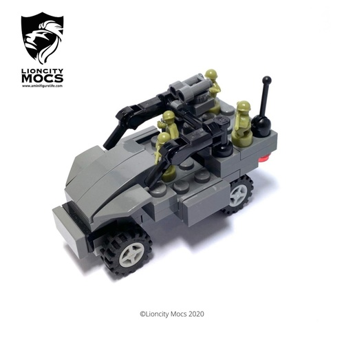 Light Strike Vehicle Mk II - Mini Building Kit SG1001