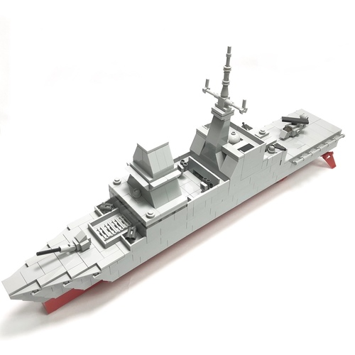 (PRE-ORDER)Formidable Class Stealth Frigate Microscale - 204